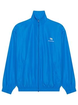 Medium-fit Track Jacket Royal Blue