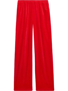 Soft Tracksuit Pants, TANGO RED