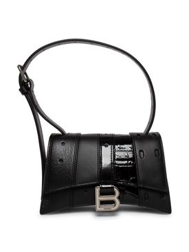 XS Multi-belt Shoulder Bag Black