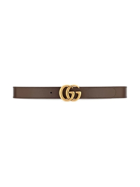 Reversible GG Supreme Print Belt Neutral and Brown