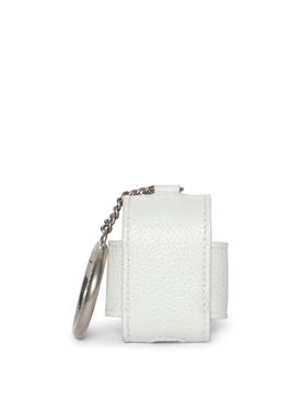 Leather Cash AirPod Holder White