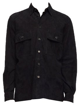 The Row - Johnny Suede Over Shirt - Men