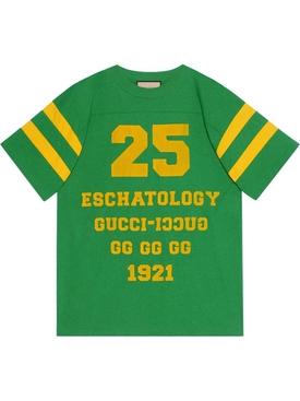 25 Eschatology and Blind For Love T-shirt Green