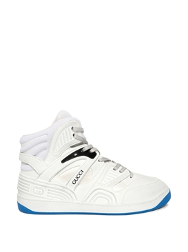 Basket High-Top Sneakers White
