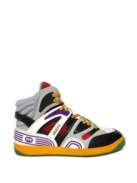 Basket High-Top Sneakers Multicolor