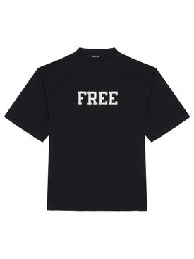 FREE LOGO T-SHIRT BLACK