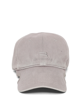 NOTCHED VISOR CAP STEEL GREY