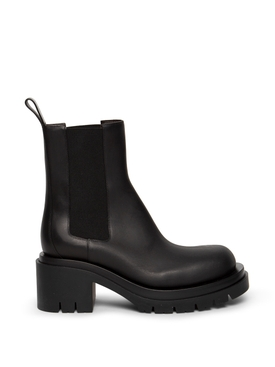 THE LUG ANKLE BOOT BLACK