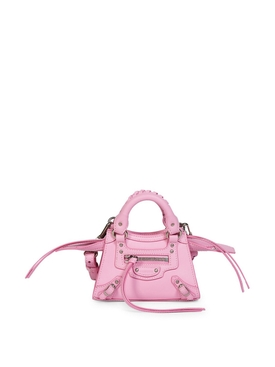 MINI NEO CLASSIC TOP HANDLE BAG CANDY PINK