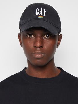 PRIDE 2021 BASEBALL CAP BLACK