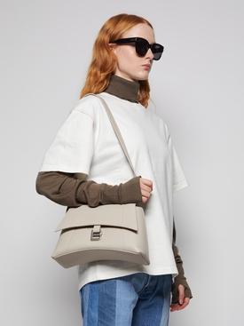 Small Soft Hourglass Shoulder Bag