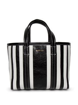 Barbes Tote Bag BLACK AND WHITE