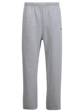 Jogging Pants Heather Grey and Royal Blue