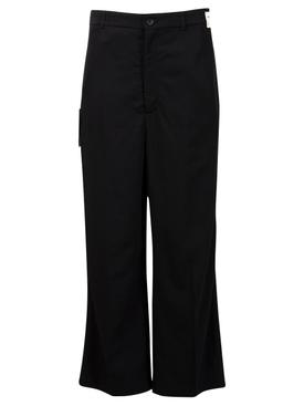 Cropped Rental Pants Black