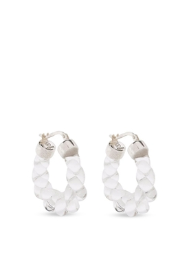 TWIST HOOPS TRANSPARENT CLEAR