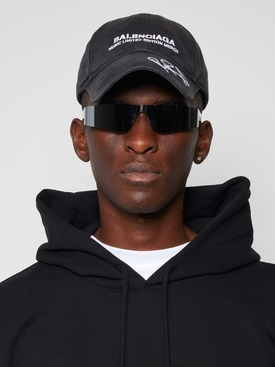 X RuPaul Cap Black and White