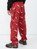 Vetements - Red Graphic Pajama Pants - Men