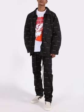 Black Nylon Field Jacket