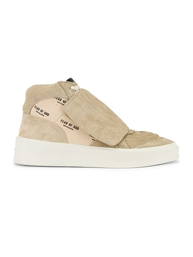 Sand High-Top Skate Sneaker