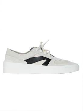 Skate Low Top Sneaker Bone/Black