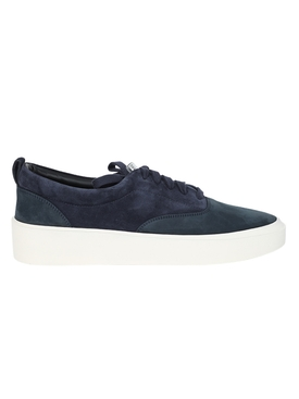Suede Low-Top Sneakers NAVY