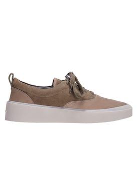 Suede Low-Top Sneakers TAUPE
