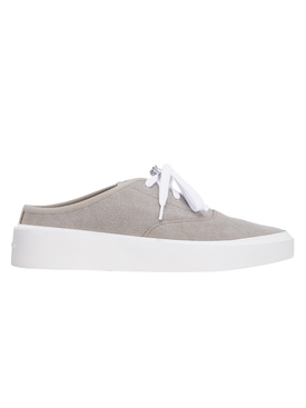 Taupe Backless Sneaker