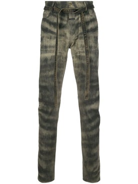 Fear Of God - Tie Waist Jeans Zebra Stripe - Men
