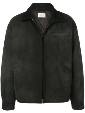 Fear Of God - Black Zip Up Work Jacket - Men
