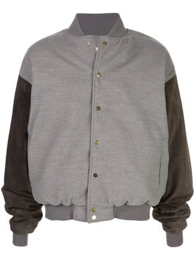 Fear Of God - Grey Contrast Bomber Jacket - Men