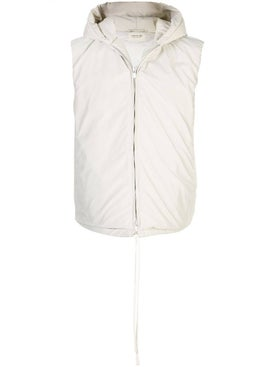Fear Of God - White Hooded Vest