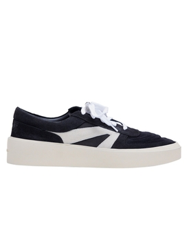 Black Low-Top Skate Sneakers