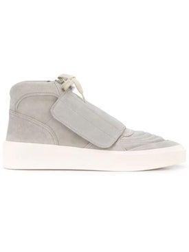 Fear Of God - Front Flap Mid-top Skate Sneakers Grey - Men