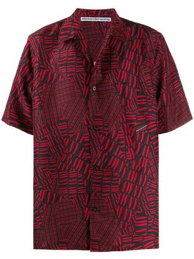 Alexanderwang - Short-sleeved Logo Shirt Red - Men