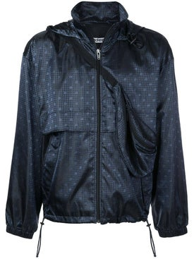 Alexanderwang - Navy Nylon Monogram Windbreaker - Men