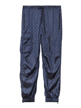 Alexanderwang - Monogram Print Nylon Track Pants - Men