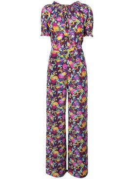 Saloni - Julia Printed Jumpsuit - Women