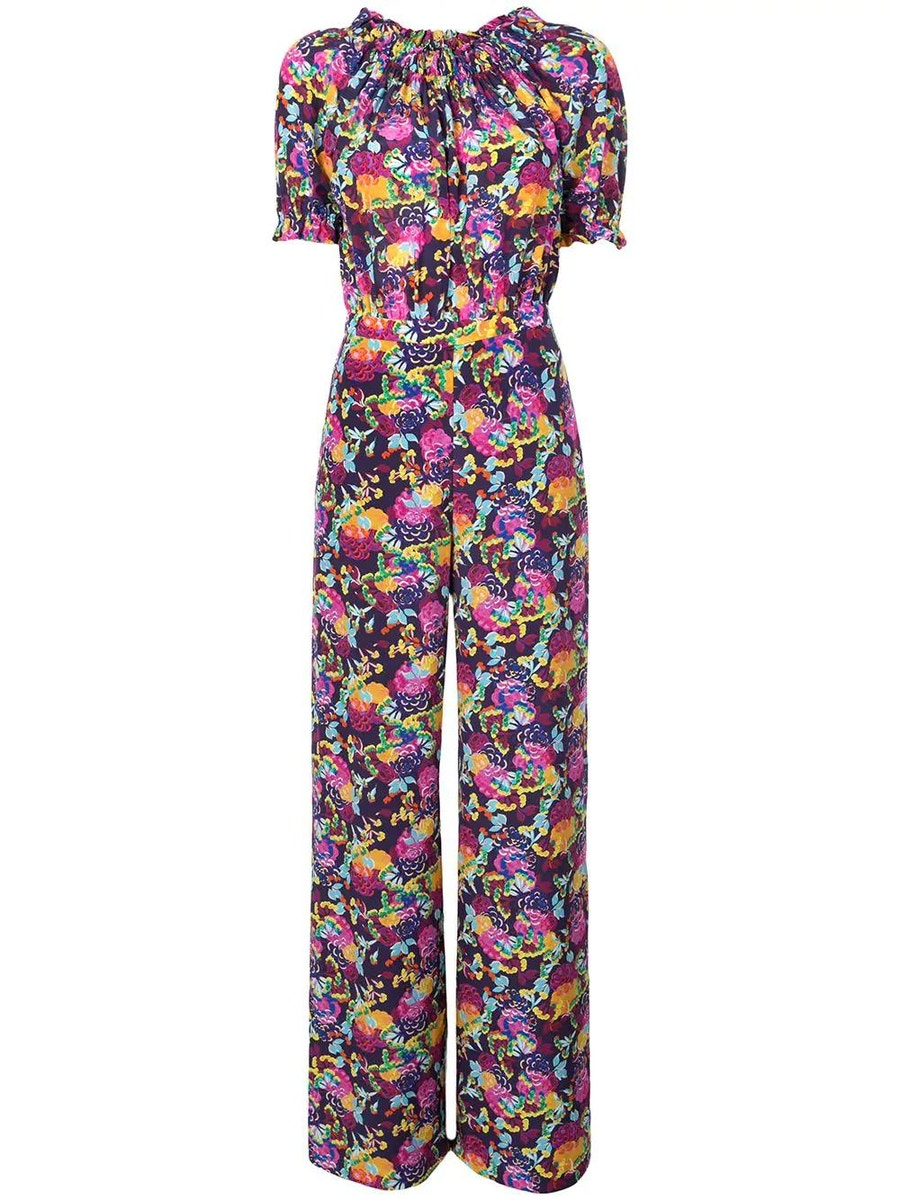 Saloni Suits julia printed jumpsuit