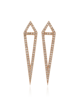 DAGGER STUDS Rose Gold