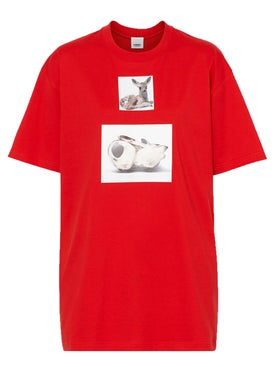 Burberry - Deer Print T-shirt - Men