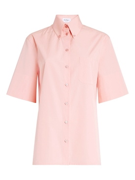 Pink Desert Sunset Buttoned Shirt