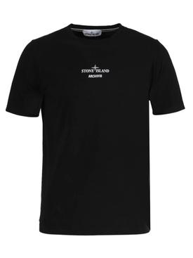 Archivio logo t-shirt BLACK