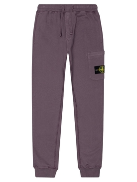 Fleece Cotton Pants MAGENTA PURPLE