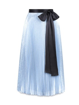 Christopher Kane - Lame Skirt With Bow - Women