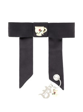 Christopher Kane - Satin Bow With Charms - Women