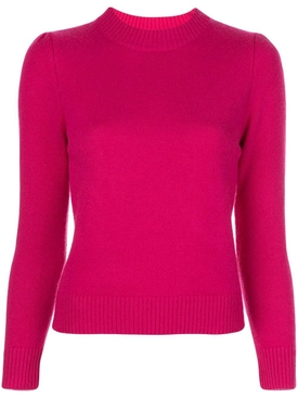 Co - Pink Cashmere Cropped Sweater - Women