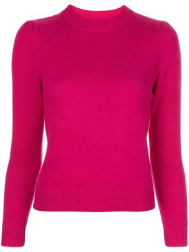 Co - Pink Cashmere Crew-neck Sweater - Women