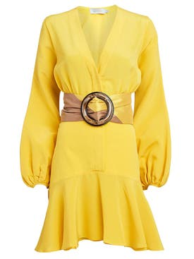 Silvia Tcherassi - Yellow Filis Belted Dress - Women
