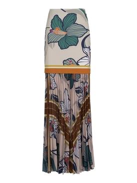 Biella Floral Print Skirt