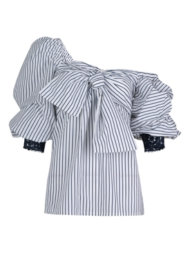 Aosta Striped Blouse